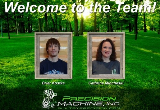 Precision's Newest Team Members